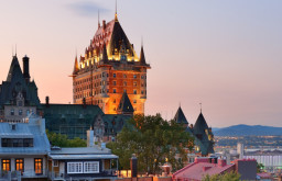 Student Tour Quebec City Chateau Frontenac